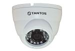TSi-Dle1F (3.6) - мегапиксельная антивандальная уличная купольная IP камера с фиксированным объективом.