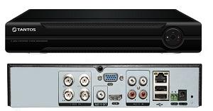 TSr-HV0412 Premium 4-х канальный гибридный AHD видеорегистртор